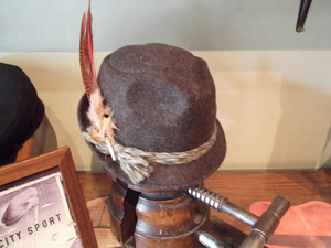 Sombrero tirolés lana mujer