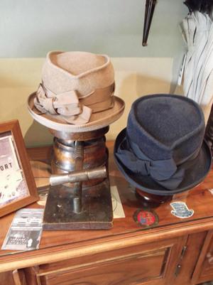 Sombreros fieltro velour