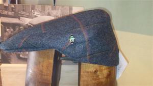 Gorra Lana-Cashmere 8london-2574 gris-cuadro burgeos